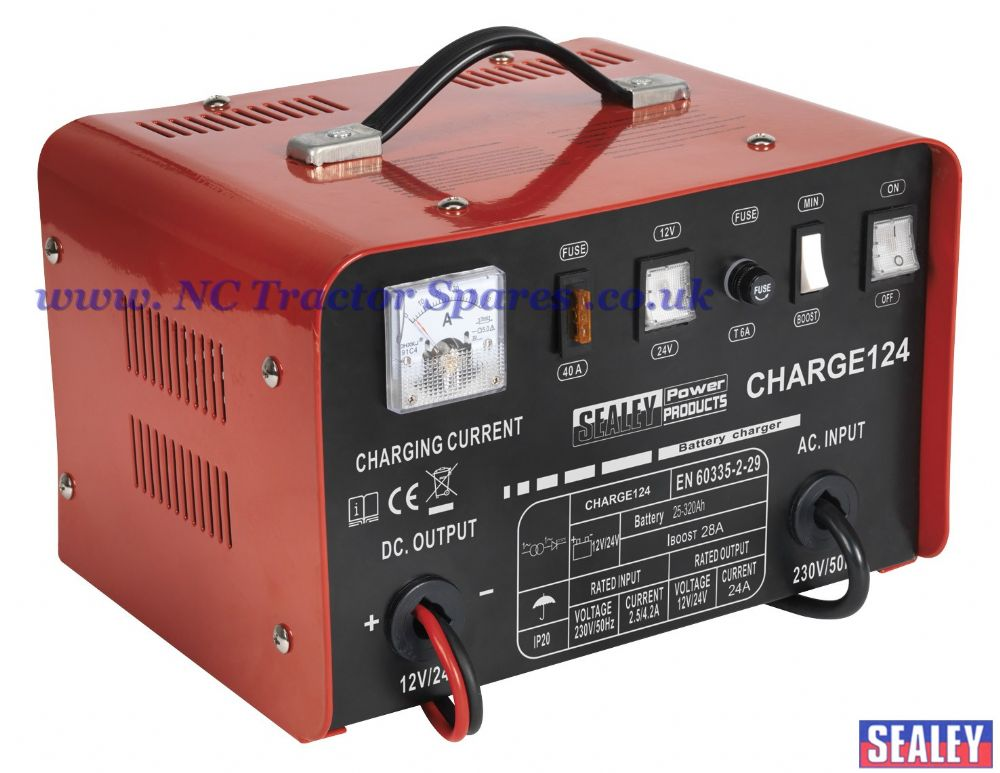 Battery Charger 28Amp 12/24V 230V